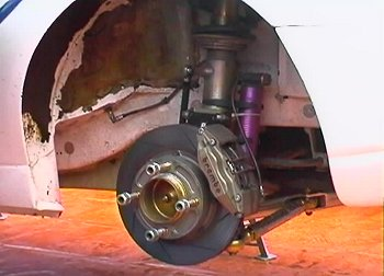 Ford Focus suspension