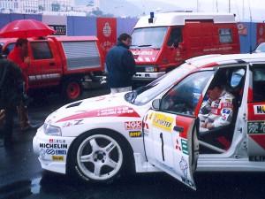 Makinen- Mitsubishi Lancer Evolution IV