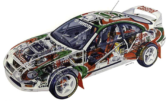 The Group A version of the Celica (ST205)