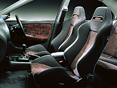 Mitsubishi Lancer Evolution IV interior