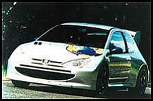 Peugeot 206 WRC prototype
