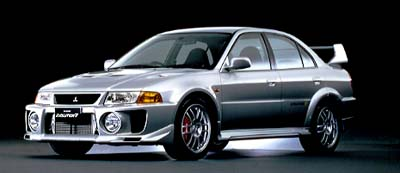The street version of the Lancer Evolution V